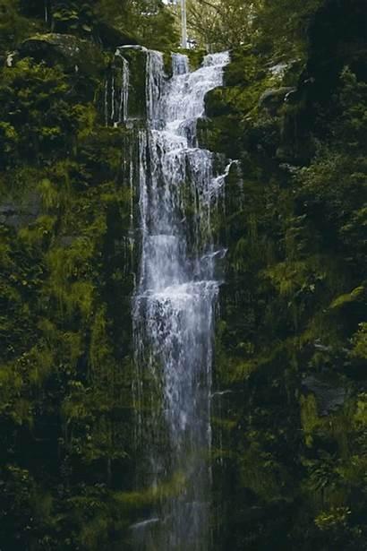 Cool Nature Waterfall Scenery Fountain Gifs Take