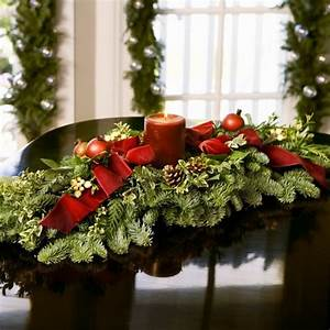 christmas table centerpiece ideas add accents to the With christmas dining room table centerpieces
