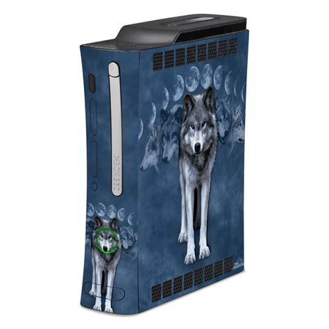 Xbox 360 Skin Wolf Cycle By The Mountain Decalgirl