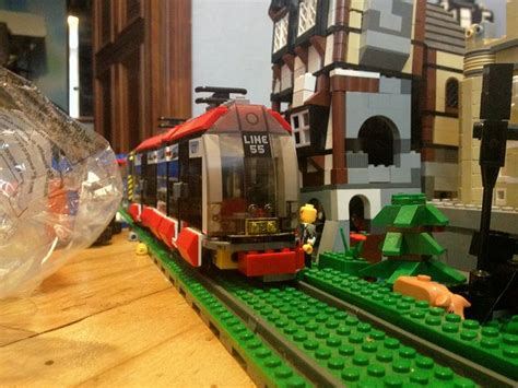 Lego City Light Rail Tram