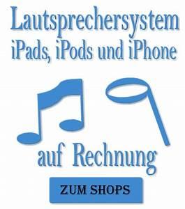 Im Namen Und Auf Rechnung : lautsprechersystem f r ipod und iphone auf rechnung ~ Themetempest.com Abrechnung