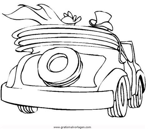 hochzeitsauto  gratis malvorlage  beliebt diverse