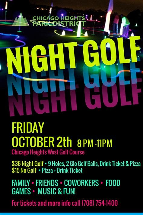 2020 Fall Night Golf ‹ Chicago Heights Park District