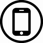 Icon Phone Mobile Icons Circle Svg Telephone