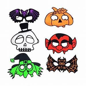 Masque Halloween A Fabriquer : petit masque halloween color pour adulte ~ Melissatoandfro.com Idées de Décoration