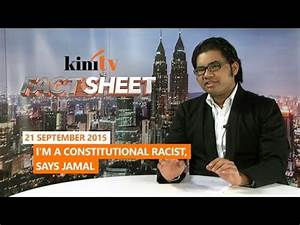Fact Sheet - September 21: I'm a constitutional racist ...