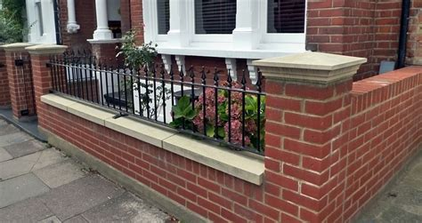 front garden wall designs brickwall builders london london paving company patio and paving design and installation london