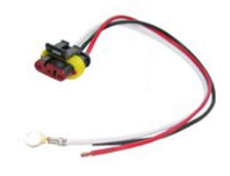 3 wire pigtail for optronics lights weathertight