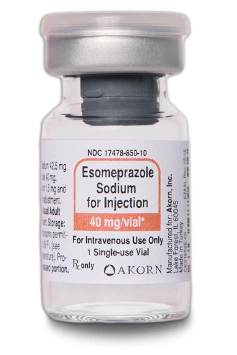 akorn esomeprazole sodium  injection