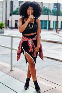 fashion, street style inspiration, natural hair, afro hair ...