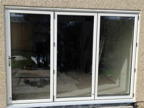 white bifold doors 3 panel white aluminium bi fold door folding doors 2 u