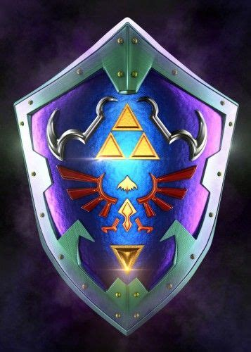 Ocarina of time game introduced a time traveling element into the series. '3D Ocarina of Time Shield ' Poster Print by Simon Garcia | Displate | Zelda tattoo, Princess ...