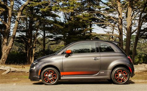Review Fiat 500e by 2015 Fiat 500e Review Roadshow