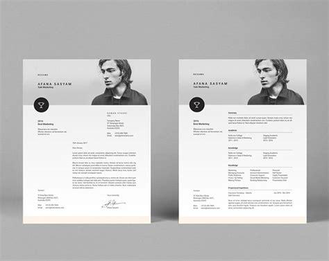 Resume Template Indesign by Indesign Resume Template Fancy Resumes
