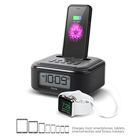 ihome for iphone 5 ihome ipl23 stereo fm clock radio with lightning dock