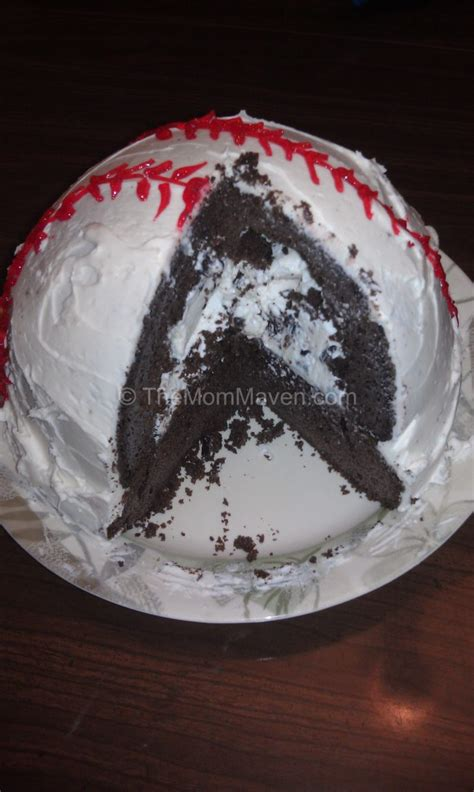 easy recipes how to make a baseball cake the maven