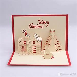 Pop Up Weihnachtskarten : gro handel weihnachtskarten 3d pop up frohe weihnachten serie handgemachte kundenspezifische ~ Frokenaadalensverden.com Haus und Dekorationen