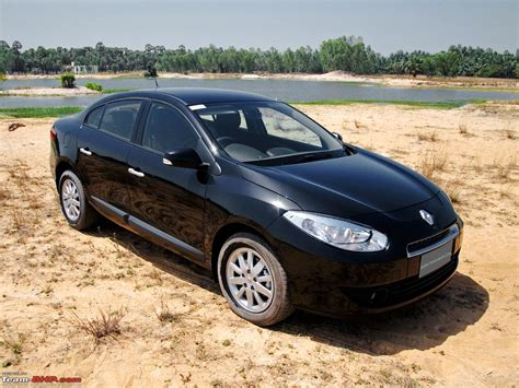 renault fluence black renault fluence test drive review team bhp