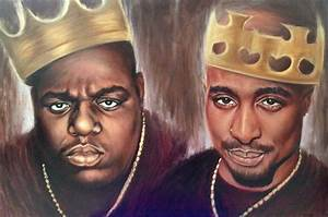Online Buy Wholesale tupac painting from China tupac ...
