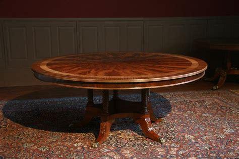 72 pedestal dining table 5 column rope turn duncan phyfe pedestal 7380