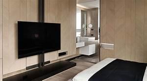 Tv Im Schlafzimmer : a tiny taiwanese apartment ~ Lizthompson.info Haus und Dekorationen