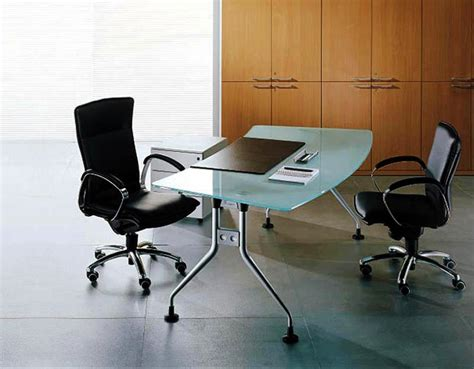 contemporary bureau desk contemporary glass office desks modern glass desk office