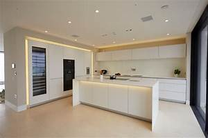 a bulthaup kitchen fit for Sandbanks - Contemporary
