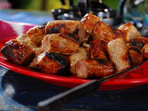 beer simmered bratwurst recipe bobby flay food network
