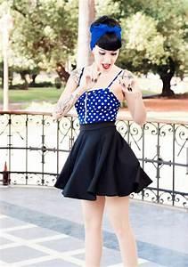 Mode Femme Année 50 : 1001 id es de la robe rockabilly comment la porter comment la cr er et beaucoup plus ~ Farleysfitness.com Idées de Décoration
