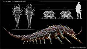 Skull Island Bugs on Behance