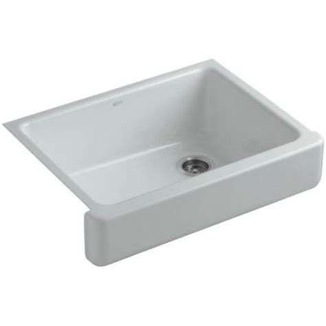 kohler whitehaven sink home depot kohler whitehaven undermount apron front cast iron 30 in
