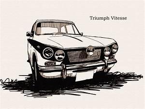 Triumph Vitesse : triumph vitesse car sketch pinterest ~ Gottalentnigeria.com Avis de Voitures