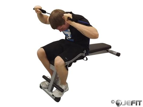 chair sit ups bodybuilding band weighted sit up exercise database jefit best