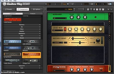 Guitar Presets by Guitar Rig 5 Preset For Gary Sound Marshall Jcm800