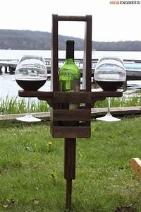 Outdoor Wine Caddy Wines, Rogues and Woodworking