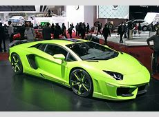 Die Tuner auf dem Genfer Autosalon 2014 autobildde