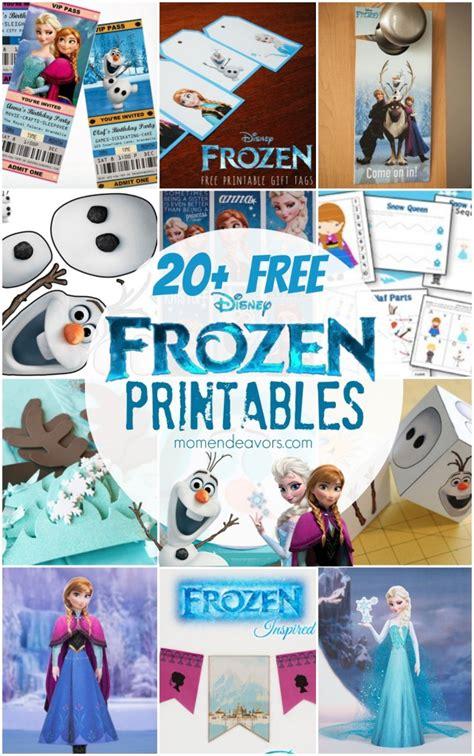 disney frozen printables activity sheets party