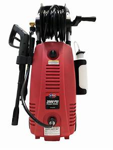 All Power 2000 Psi 1 6 Gpm Red Electric Pressure Washer
