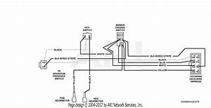 Scag Sw48a-17ka  S  N 7350001-7359999  Parts Diagram For Handle Wire Harness