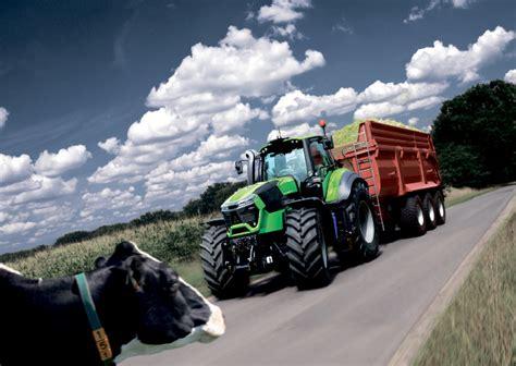 series tractors open field deutz fahr