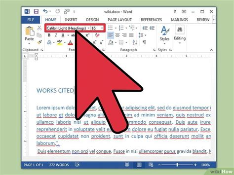 Format Word by Come Formattare Un Documento Word 18 Passaggi