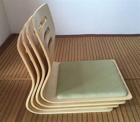 siege japonais 4 pcs lot japonais sans jambes chaise siège coussin