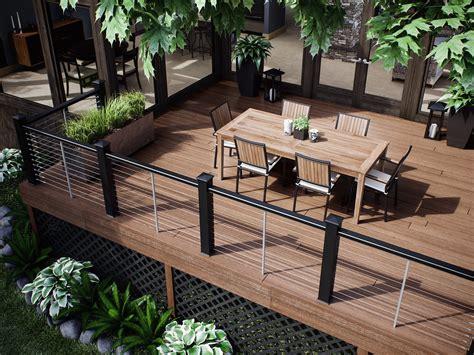 Railings And Banisters Ideas by Decks Deck Railing Ideas