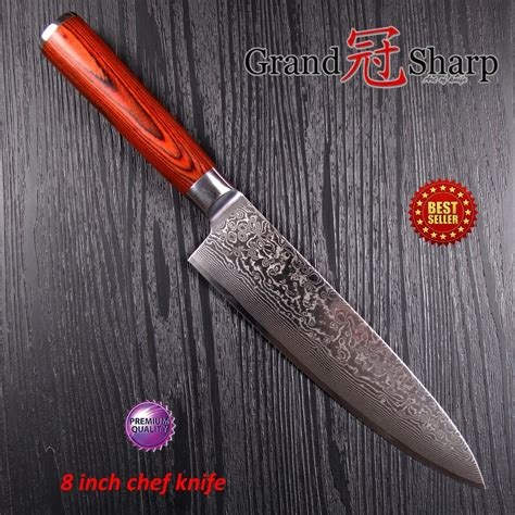 japanese steel kitchen knives 8 inch professiona chef knife damascus japanese stainless