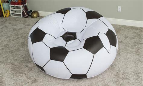 Poltrona Gonfiabile A Forma Di Pallone : Poltrona Pallone Da Calcio Bestway
