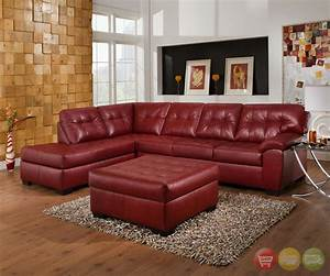 soho contemporary red leather sectional sofa w left chaise With simmons dark red leather sectional sofa