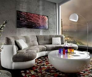 Couch Kissen Xxl : delife couch napoli hellgrau weiss 300x95cm rundsofa inkl kissen sofa online kaufen otto ~ Indierocktalk.com Haus und Dekorationen