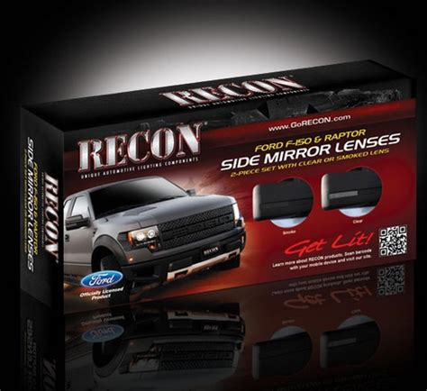09 2014 ford f 150 raptor svt recon smoked side mirror