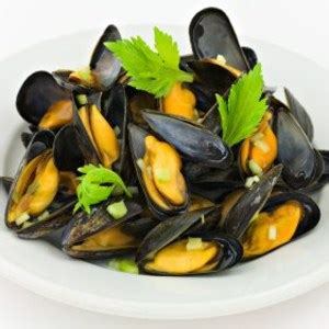moules marinieres au thermomix  personnes