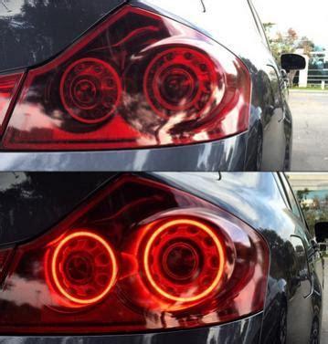 custom tail lights gdriver infiniti   forum